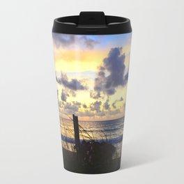 Beach Sunrise Travel Mug