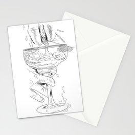 pussy margarita Stationery Cards