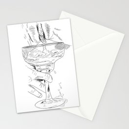 pussy margarita Stationery Cards
