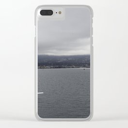 Seaplane and Stanley Park Clear iPhone Case