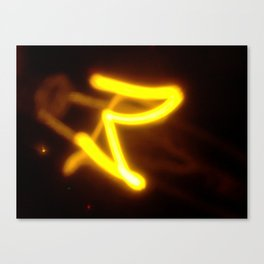 Yellow I Canvas Print