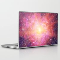 interstellar Laptop & iPad Skins featuring Interstellar Nebula by Space99