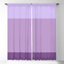 English Lavender Dreams - Color Therapy Blackout Curtain