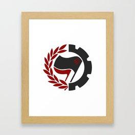 Antifa Framed Art Print