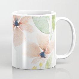 Watercolor flowers pattern Coffee Mug
