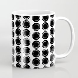 Circle Pattern Coffee Mug