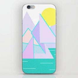 Hello Mountains - Lavender Hills iPhone Skin