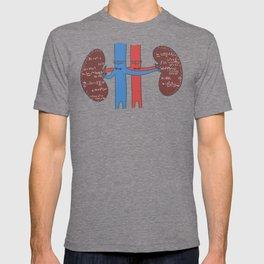 Renal calculus T-shirt