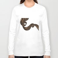 rapunzel Long Sleeve T-shirts featuring Rapunzel by giulya