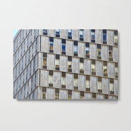 Blocks of Chase Metal Print