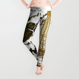 La Tour Eiffel Leggings