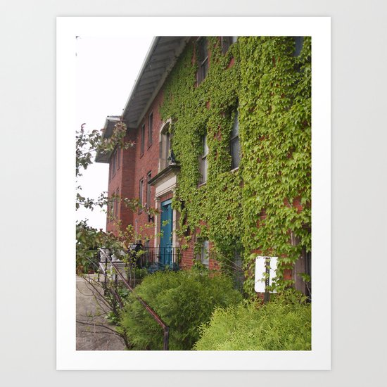 Abandoned Building 1 Art Print