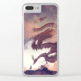 Dream Dragon Clear iPhone Case