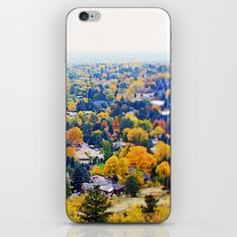 miles of trees iPhone Skin