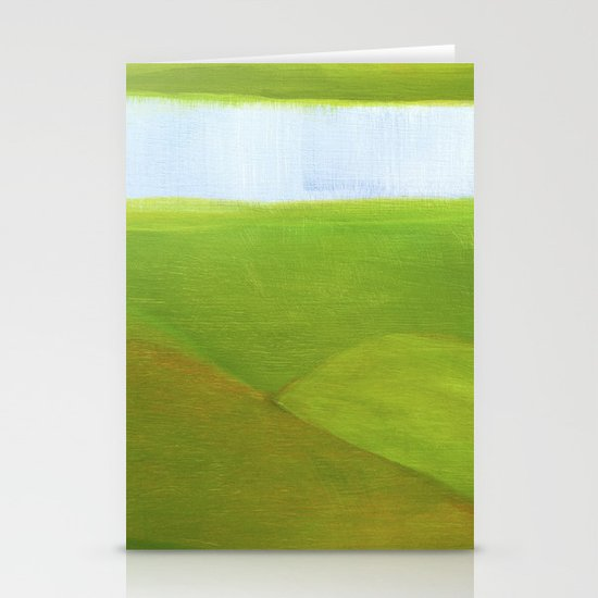 grassy Stationery Cards