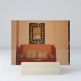 Love Seat And Mirror Mini Art Print