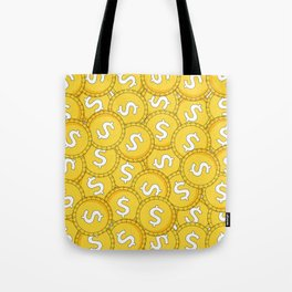 MONEY: Coins Tote Bag