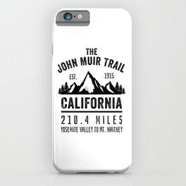 The John Muir Trail JMT iPhone Case