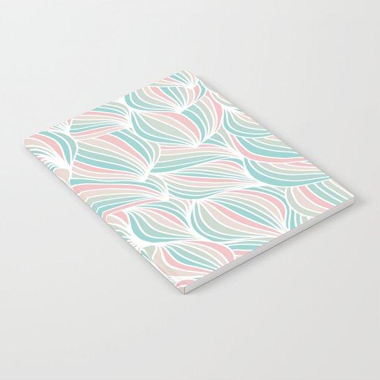 Cool Colorful Ocean Waves Notebook