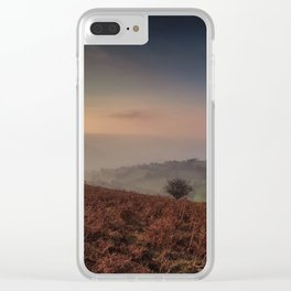 Autumn evening on the Black Mountains Clear iPhone Case