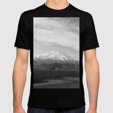 Mt McKinley MEDIUM Black Mens Fitted Tee