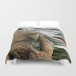 The Earth Golem Duvet Cover