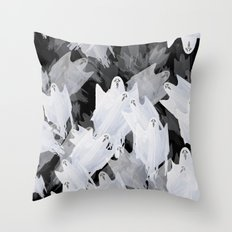 Ghostly! Throw Pillow