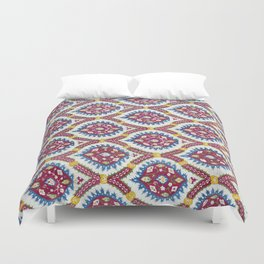 Floral Fabric Vintage Material Duvet Cover
