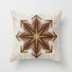 chaos symbol Throw Pillow