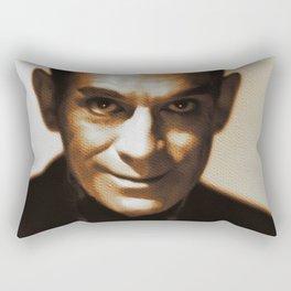 Boris Karloff, Hollywood Legend Rectangular Pillow