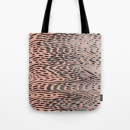 Electric Waves Tote Bag