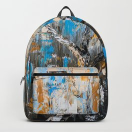 Birch branches Backpack