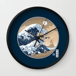 The Great Wave of Republic City Wall Clock