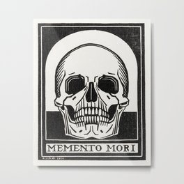Julie de Graag - Memento mori Metal Print