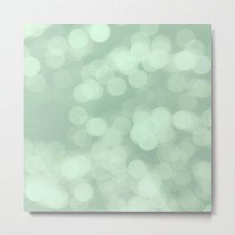 Never Let Them Dull Your Sparkle - Mint Metal Print