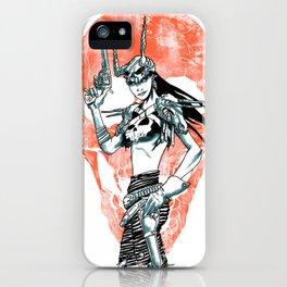 Gunslinger Girl iPhone Case