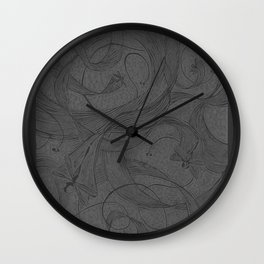 Draggin Flys - I have the actual hand printed and signed prints for sale still. Unframed $40.00 Wall Clock