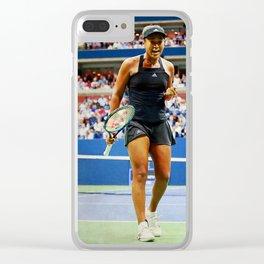 Naomi Osaka Tennis Champion Clear iPhone Case