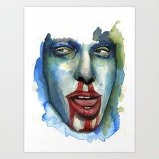 CREEPIN' Art Print