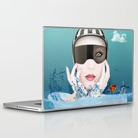 3d Laptop & iPad Skins featuring 3D by mark ashkenazi