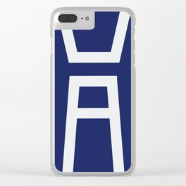 Sports Fest Clear iPhone Case