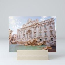 Trevi Fountain Mini Art Print