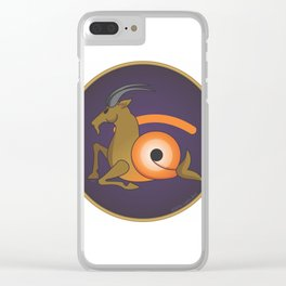 capri.ojo.rnio Clear iPhone Case