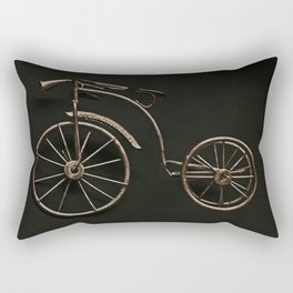 old fashioned bicycle. Rectangular Pillow