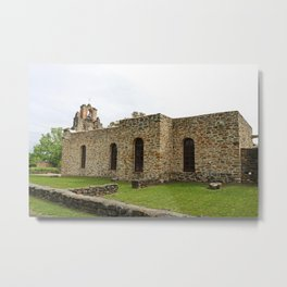 At the Mission III Metal Print