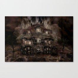 Die Geisterparty auf Halloween ! Canvas Print