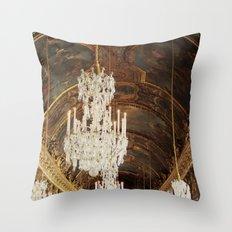 The Wonder Of Versailles Throw Pillow