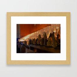 Candles Framed Art Print