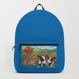 Cows in a Hot Tub Backpack