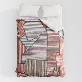 Bridget Riley Comforters